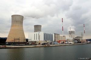 Atomkraftwerk Tihange/Huy in Belgien