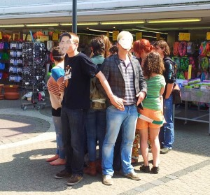 Massentierhaltung: Spontane Protestaktion der Grünen Jugend