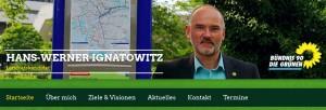 Webseite - Hans-Werner Ignatowitz