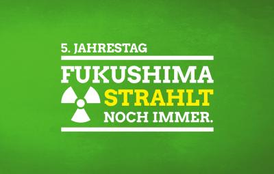 5 Jahre - Fukushima strahl noch immer
