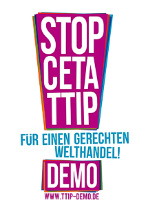 Stopp CETA & TTIP - Demo in Köln