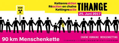 Menschenkette gegen Tihange - 25. Juni 2017