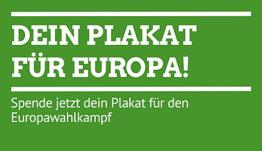 Dein Plakat für Europa!