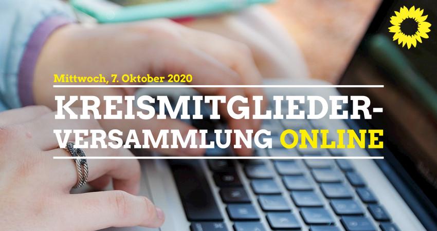 Online-Kreismitgliederversammlung am 07.10.2020
