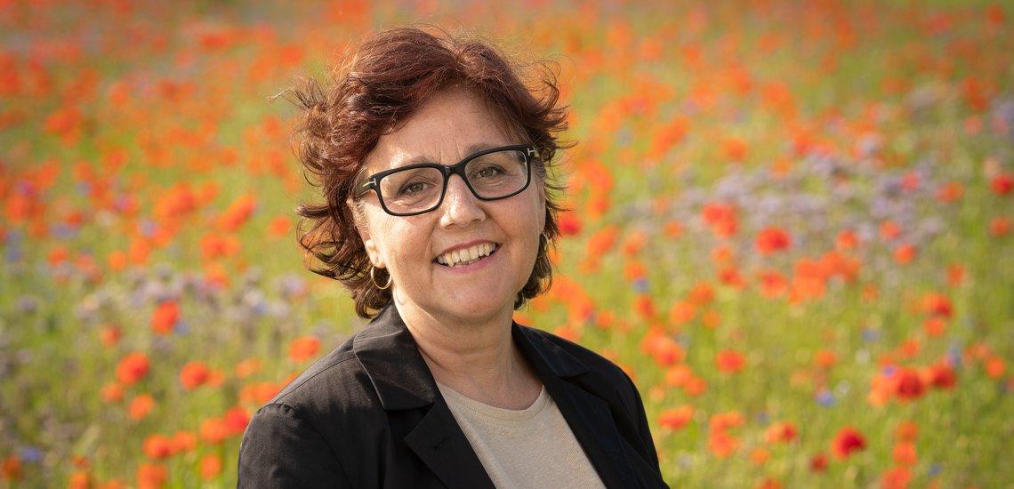Foto der Direktkandidatin Marion Sand im Wahlkreis 92 zur Bundestagswahl 2021